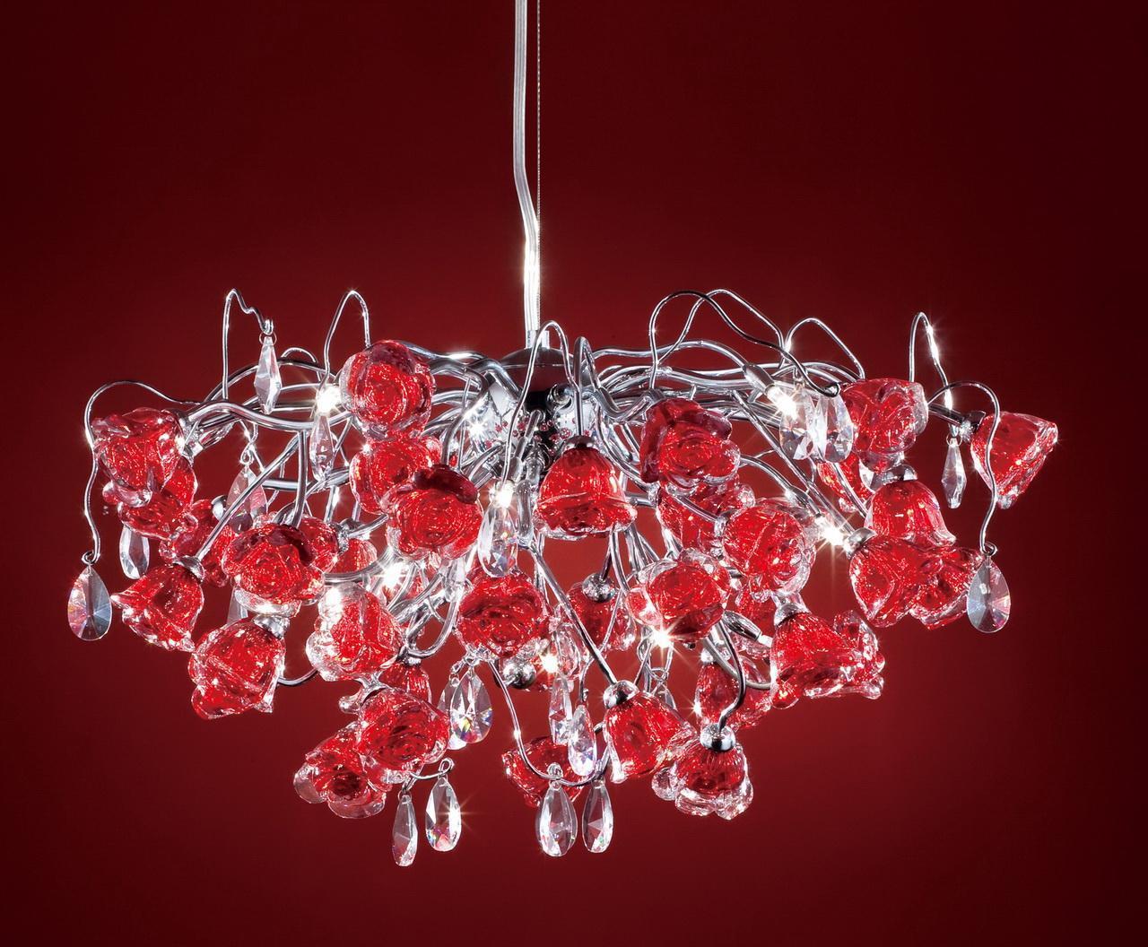 Люстра Citilux Rosa Rosso EL325P15.2 подвесная