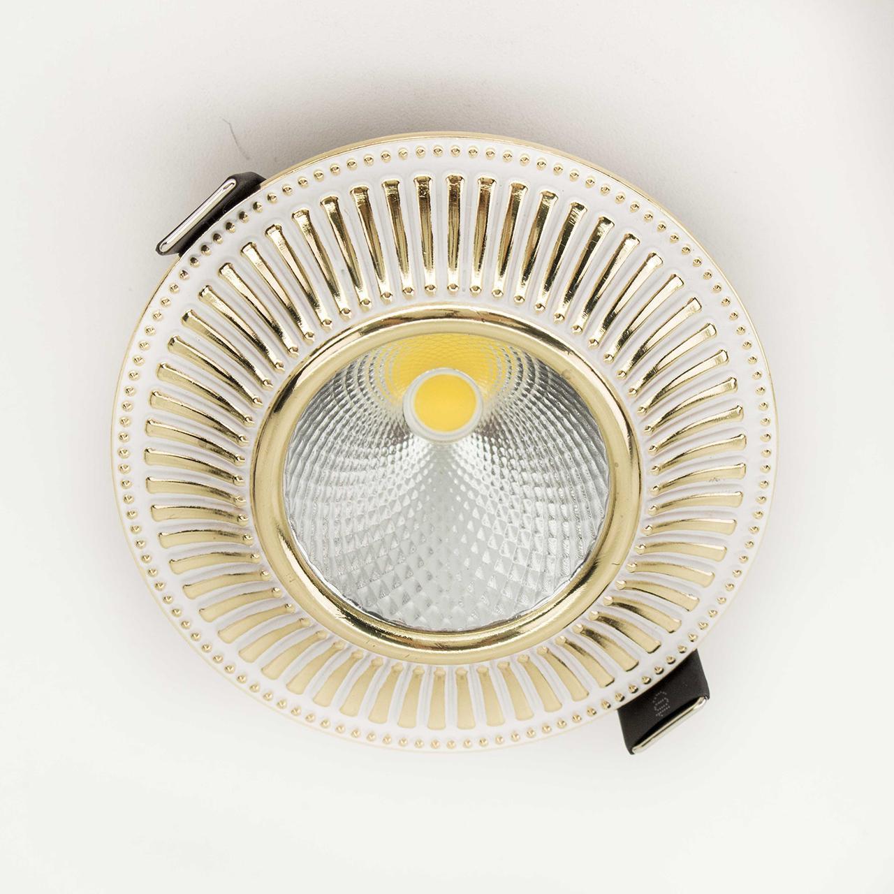 Встраиваемый светодиодный светильник Citilux Дзета CLD042W2 встраиваемый светильник дзета cld042w3