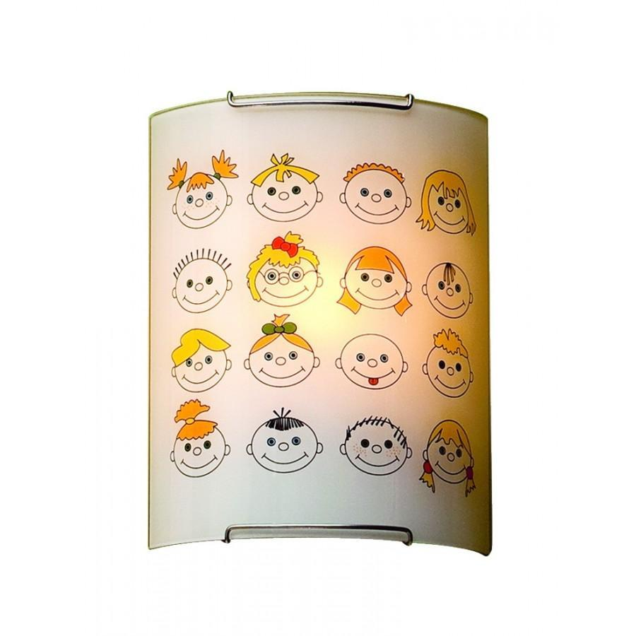 Настенный светильник Citilux Смайлики CL921016 накладной светильник citilux смайлики 932 cl932016