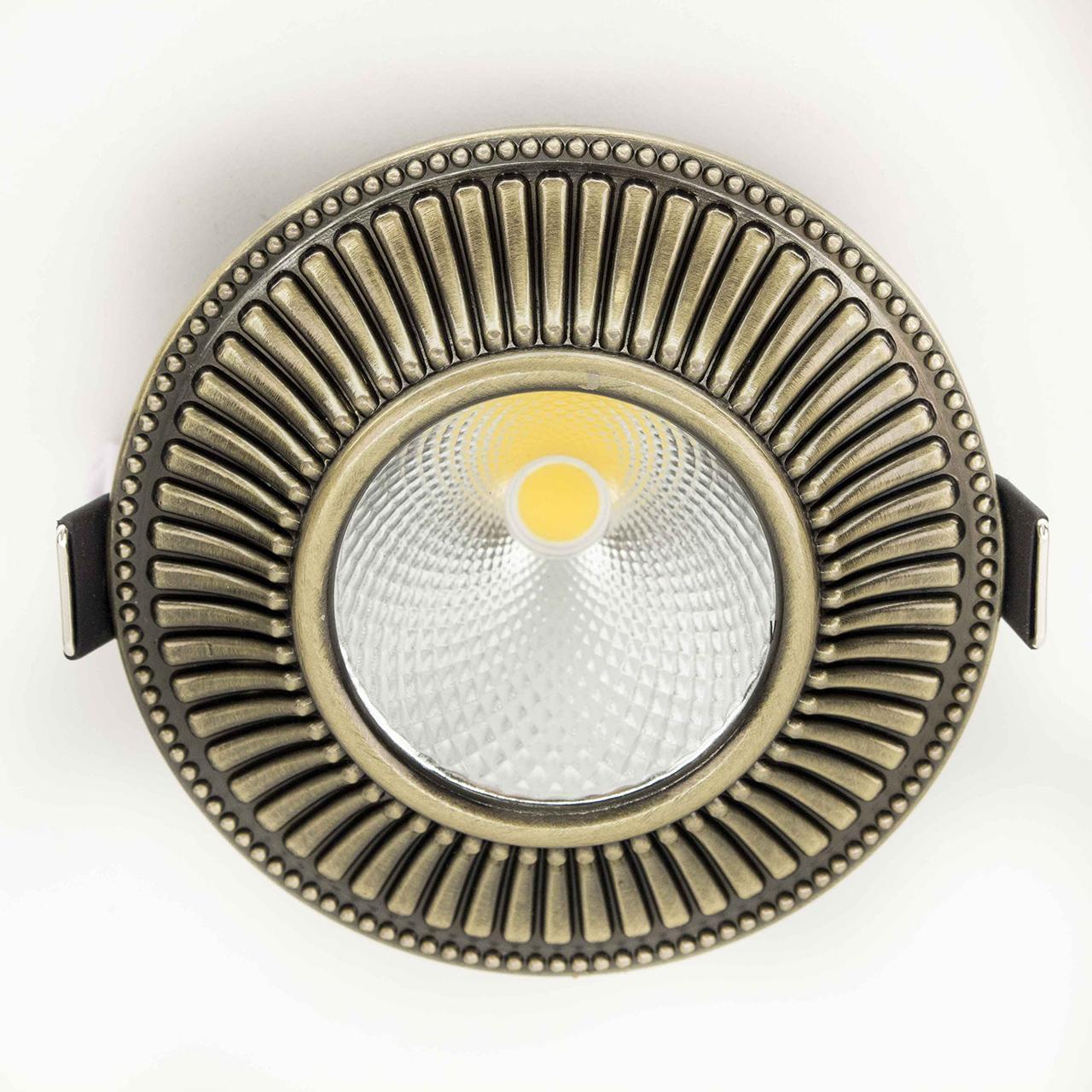 Встраиваемый светодиодный светильник Citilux Дзета CLD042W3 встраиваемый светильник дзета cld042w3