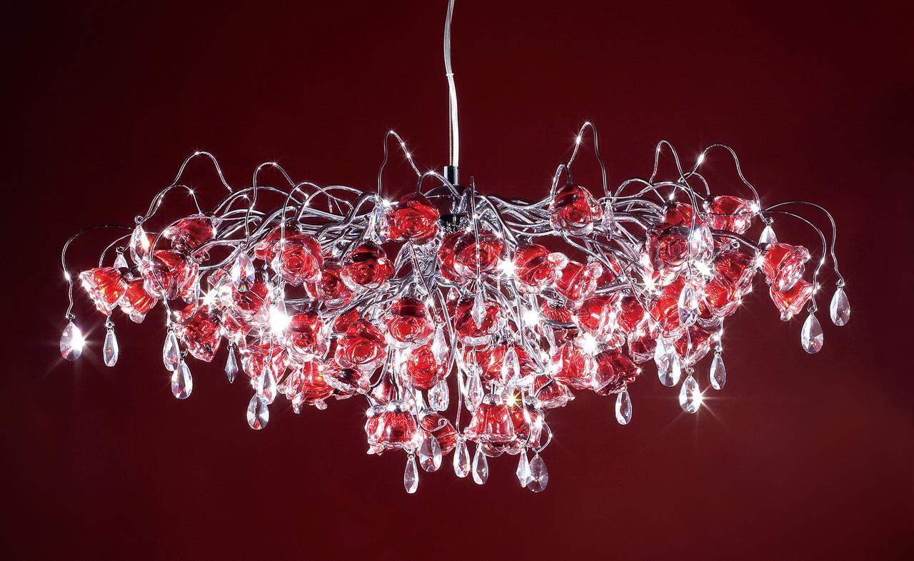 Люстра Citilux Rosa Rosso EL325P17.2 подвесная