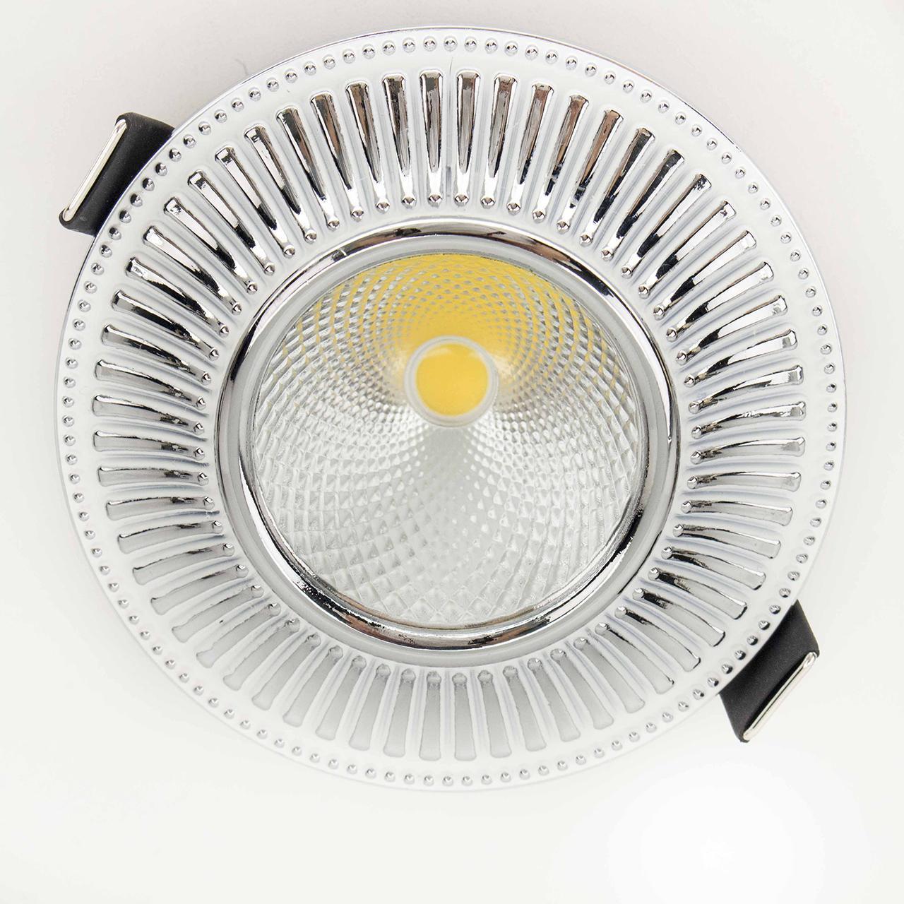 Встраиваемый светодиодный светильник Citilux Дзета CLD042W1 встраиваемый светильник дзета cld042w3