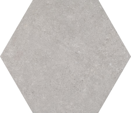 Traffic Silver HEX 25 плитка напольная 250х220 мм/37,44 напольная плитка porcelanosa calacata silver 59 6x59 6
