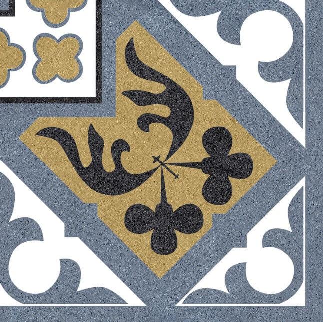 Вставка Codicer Angulo Orleans Blue 25x25 лайтбокс котята и клубочки 25x25 027