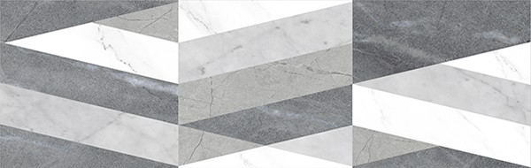 Настенная плитка Colorker +26551 Corinthian Triangle Grey alignment highlight rubber triangle eraser white