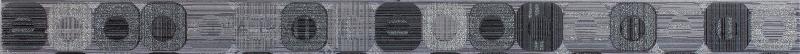 Бордюр Colorker Edda +14522 L.Pixel Grey бордюр colorker frapuccino listello descanso pulido 18 7x58 5