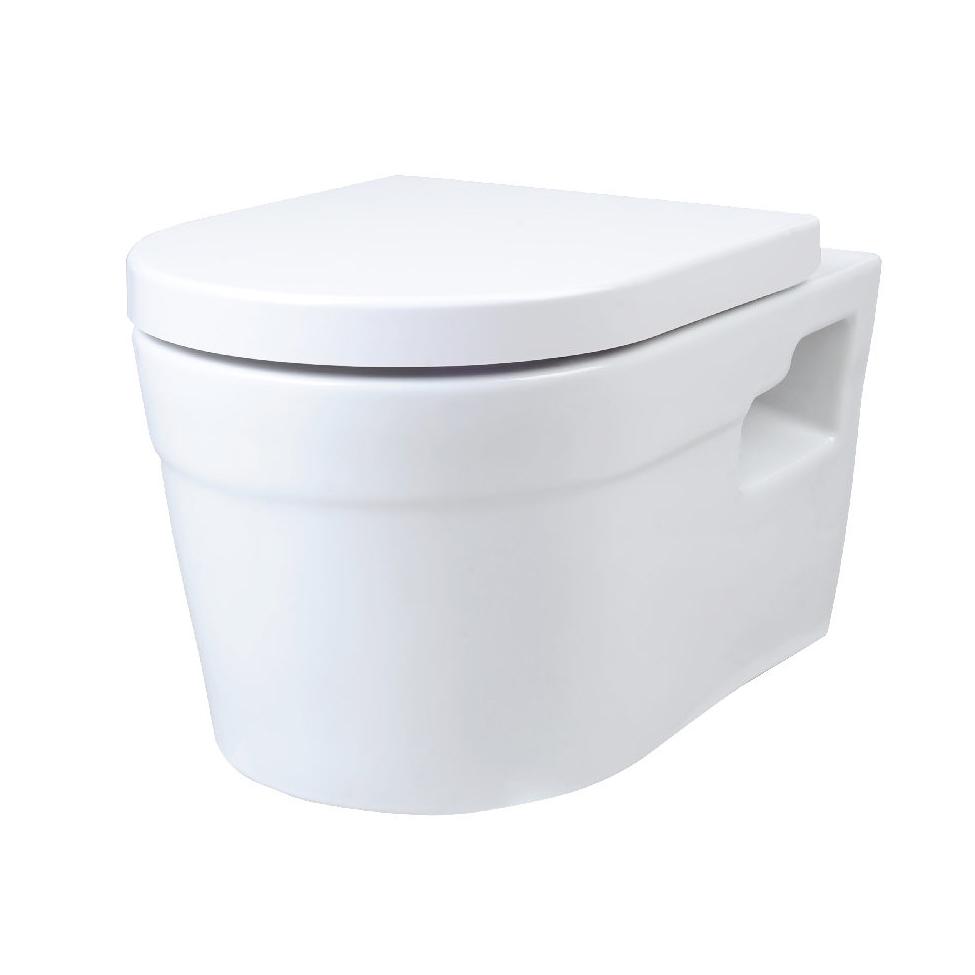 Подвесной унитаз Creo Ceramique Project PR1100+PR1101 биде creo ceramique to2000n