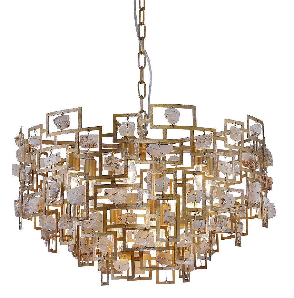 Люстра Crystal Lux Diego SP9 D600 Gold подвесная подвесная люстра crystal lux diego sp9 d600 gold