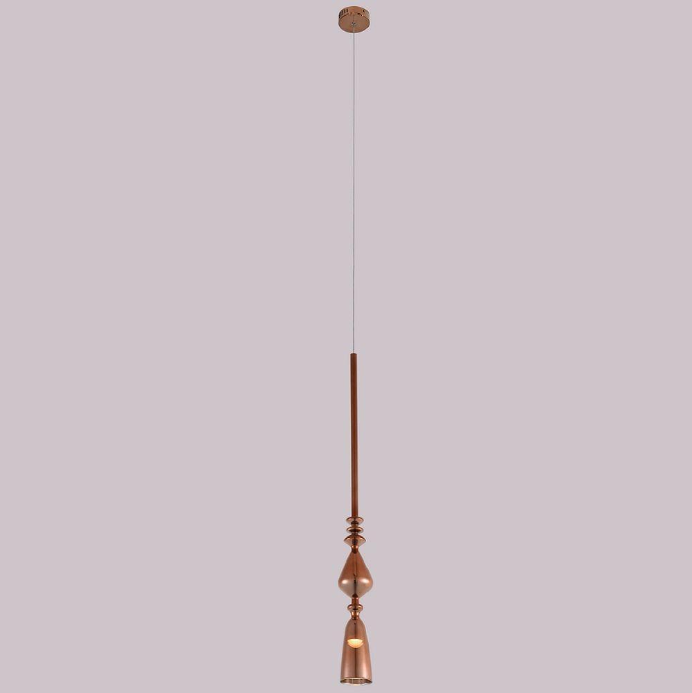 Подвесной светодиодный светильник Crystal Lux Lux SP1 B Copper