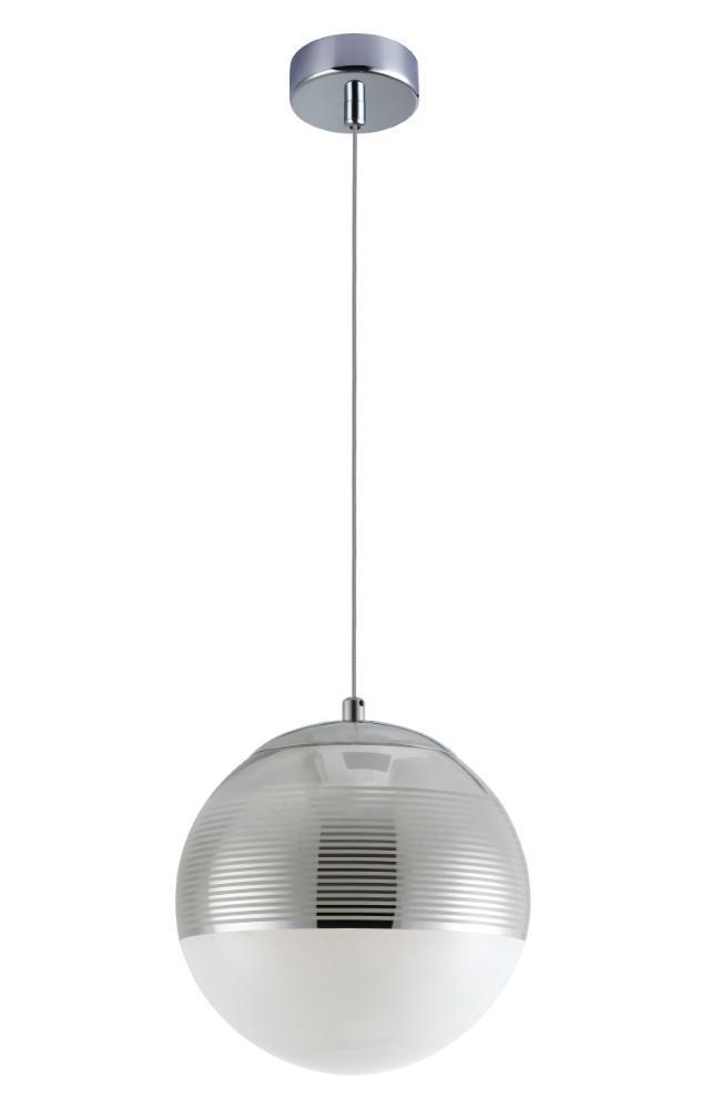 Подвесной светильник Crystal Lux Optima SP1 Chrome D200 подвесной светильник crystal lux uva chrome sp1