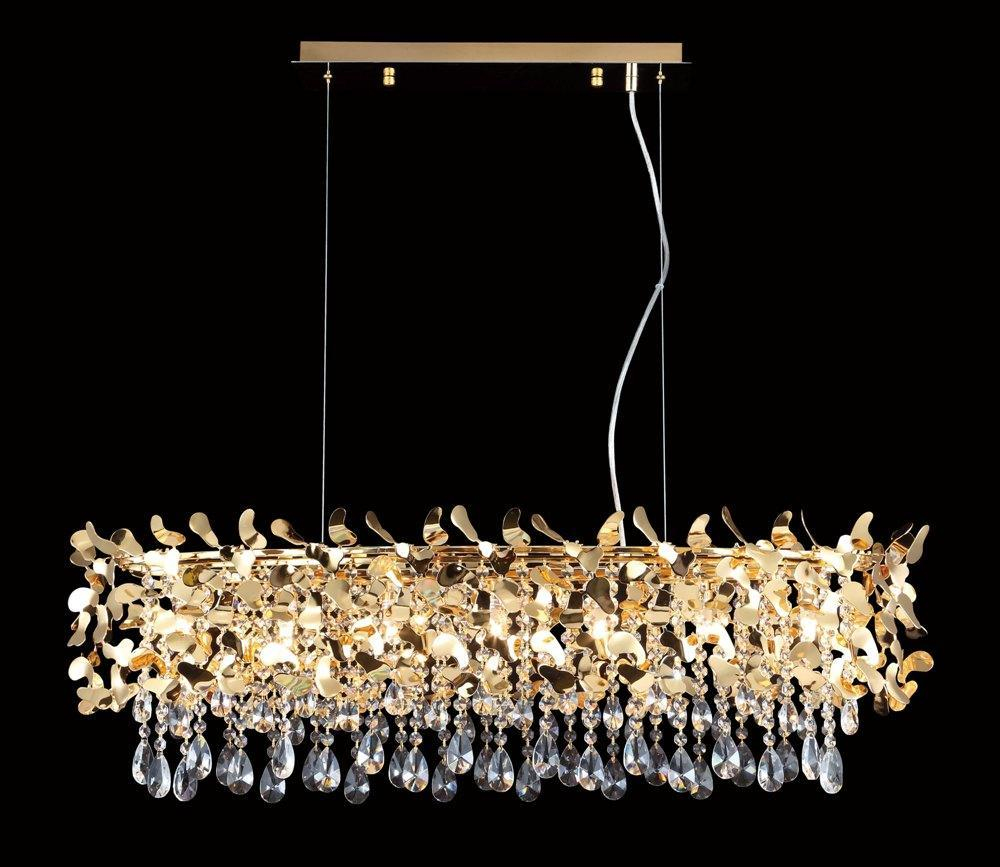 Люстра Crystal Lux Romeo SP8 Gold L1000 подвесная подвесная люстра crystal lux deseo sp12 l1000 gold