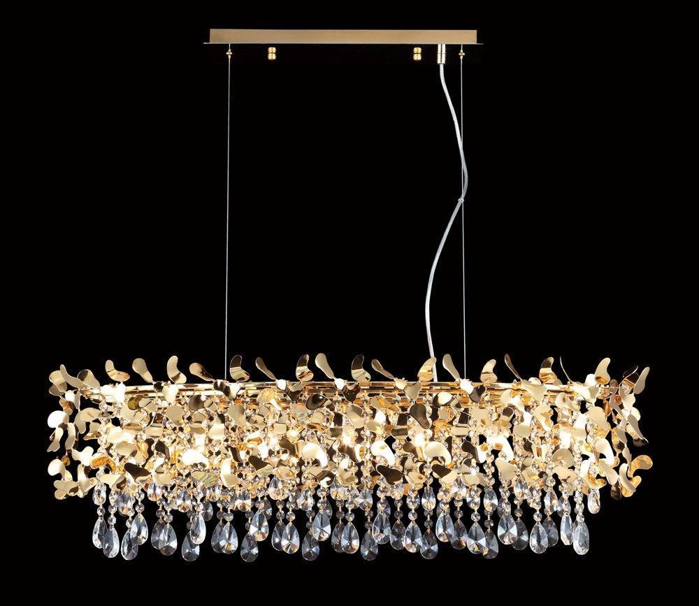 Подвесная люстра Crystal Lux Romeo SP8 Gold L1000 crystal lux deseo sp12 l1000 gold