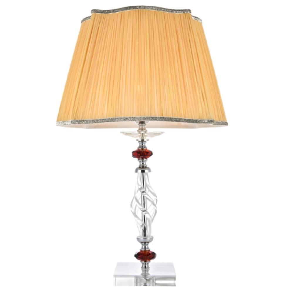 Настольная лампа Crystal Lux Catarina LG1 Gold/Transparent-Cognac бра crystal lux catarina catarina ap1 gold transparent cognac