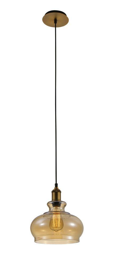 Подвесной светильник Crystal Lux Sonnette SP1 Amber подвесной светильник crystal lux sonnette sp1 smoke