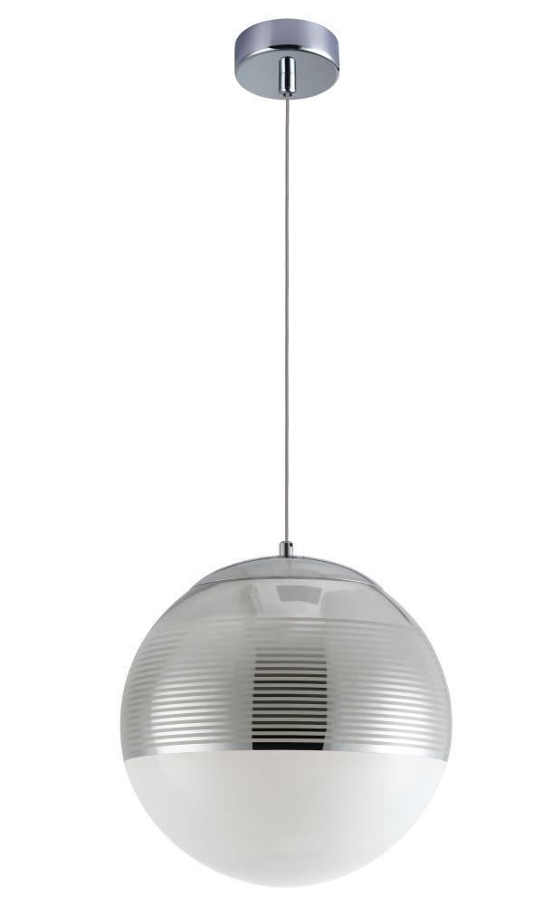 Подвесной светильник Crystal Lux Optima SP1 Chrome D300 подвесной светильник crystal lux uva chrome sp1