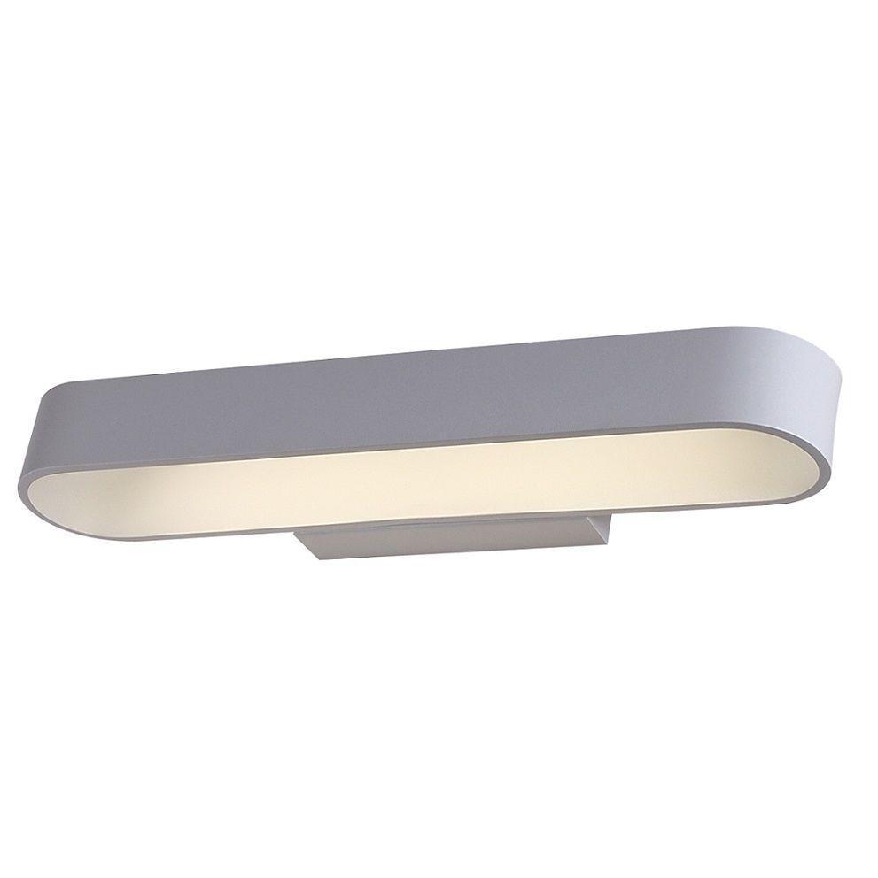 Настенный светодиодный светильник Crystal Lux CLT 511W425 WH бра crystal lux clt 511w425 gr