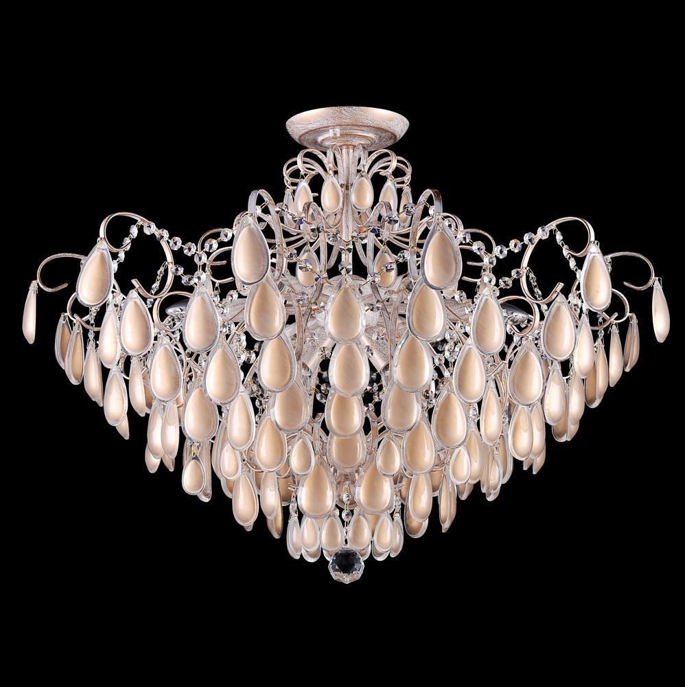 Люстра Crystal Lux Sevilia PL9 Gold потолочная потолочная люстра crystal lux sevilia pl9 silver