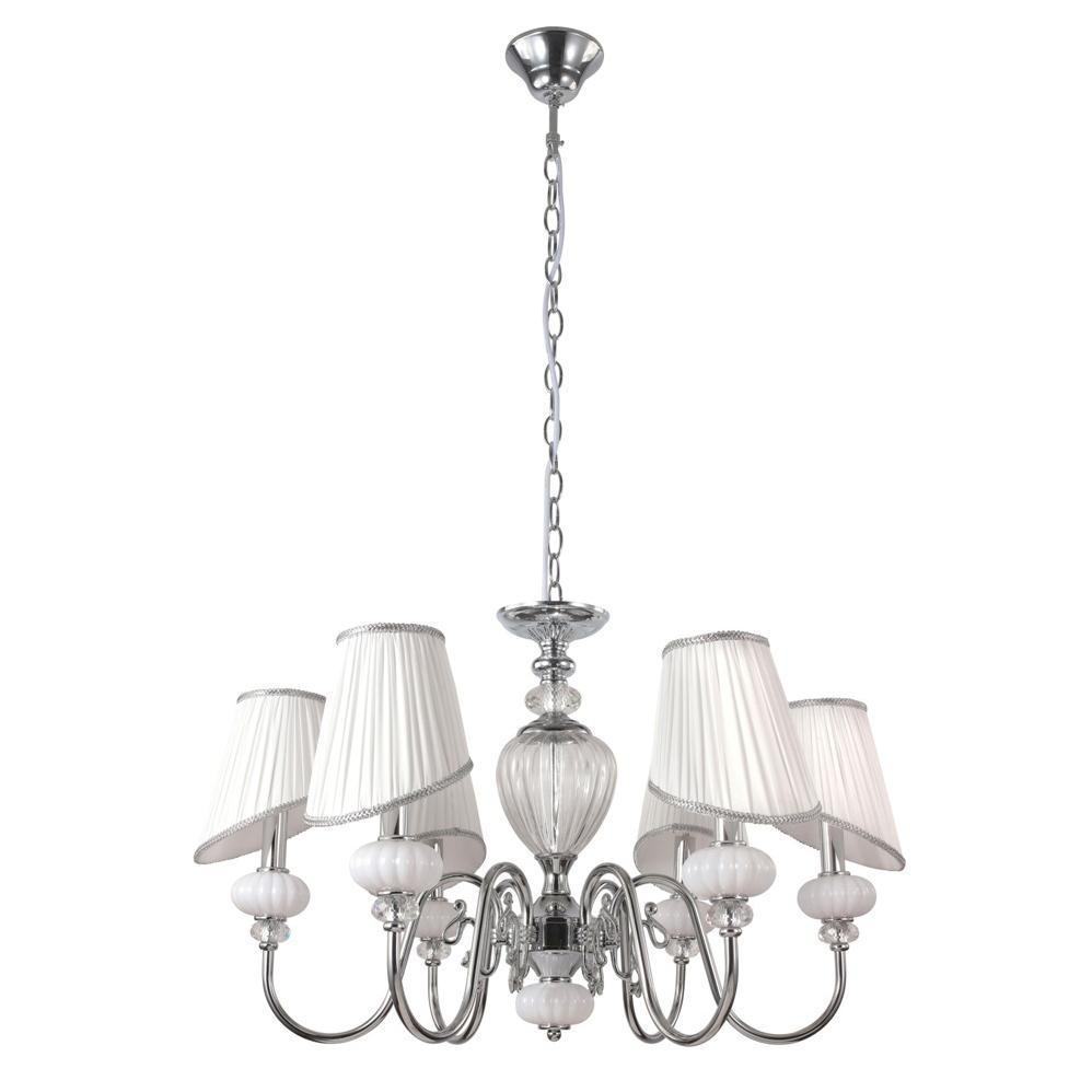 Люстра Crystal Lux Alma White SP-PL6 подвесная подвесная люстра crystal lux paola pl6