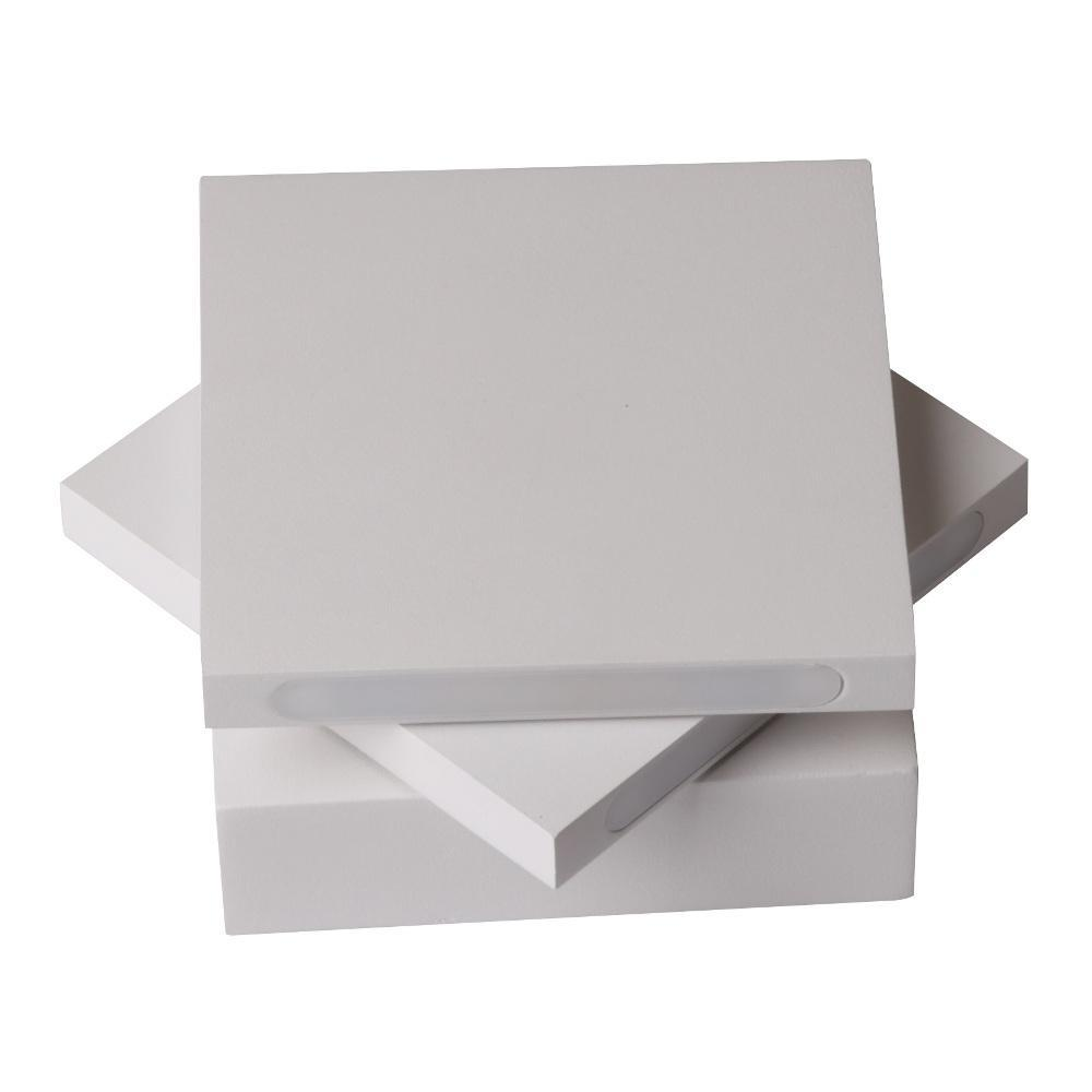 Настенный светодиодный светильник Crystal Lux CLT 026W WH настенный светодиодный светильник crystal lux clt 511w425 wh