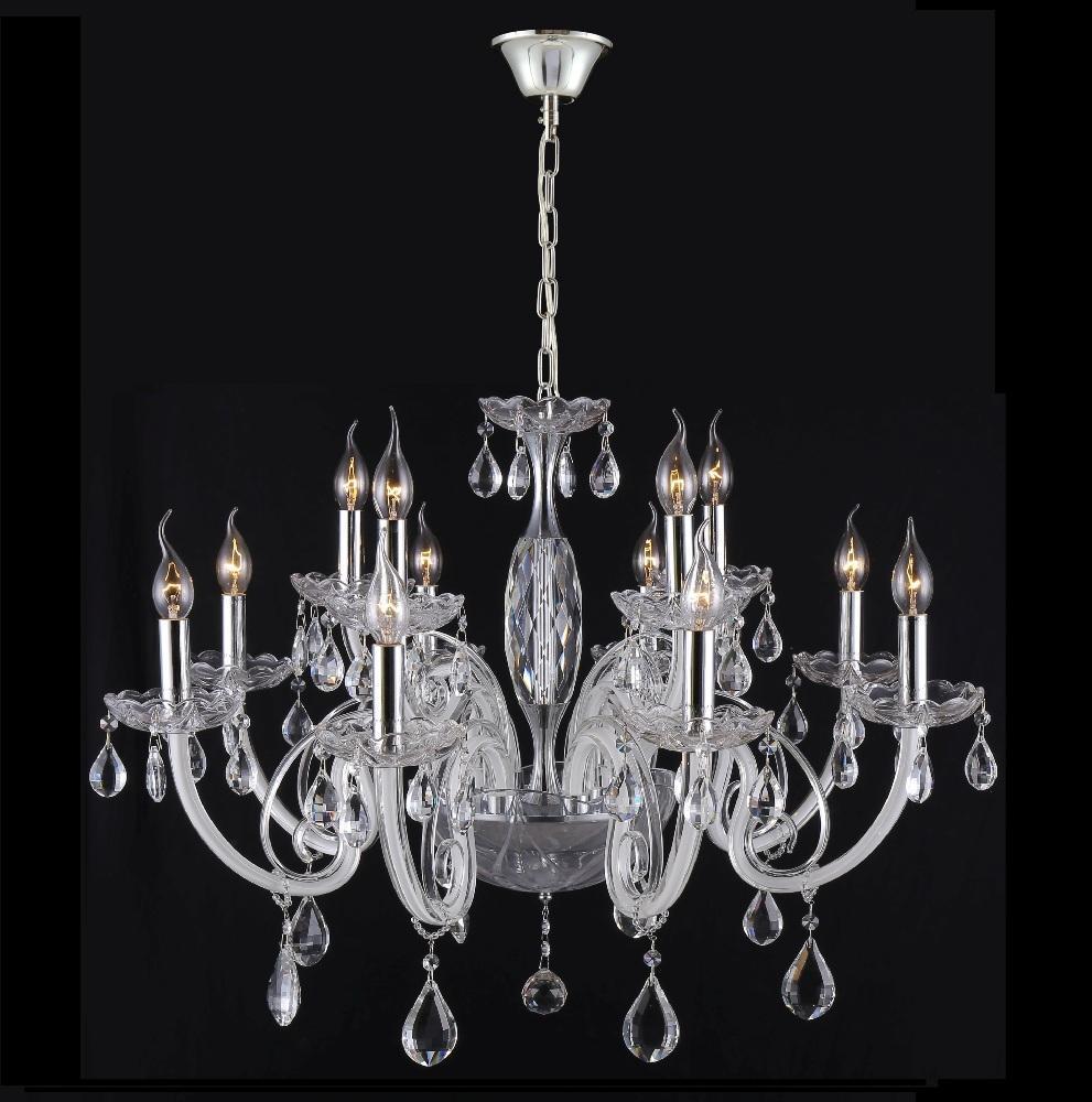 Люстра Crystal Lux Glamour SP-PL8+4 подвесная подвесная люстра crystal lux glamour glamour sp pl6