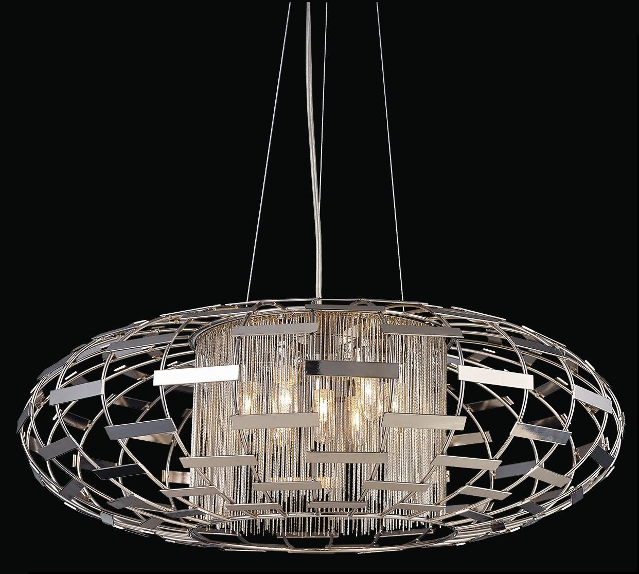 Подвесной светильник Crystal Lux Silvestro SP5 настенный светильник bloom sp5 gold crystal lux 1154144
