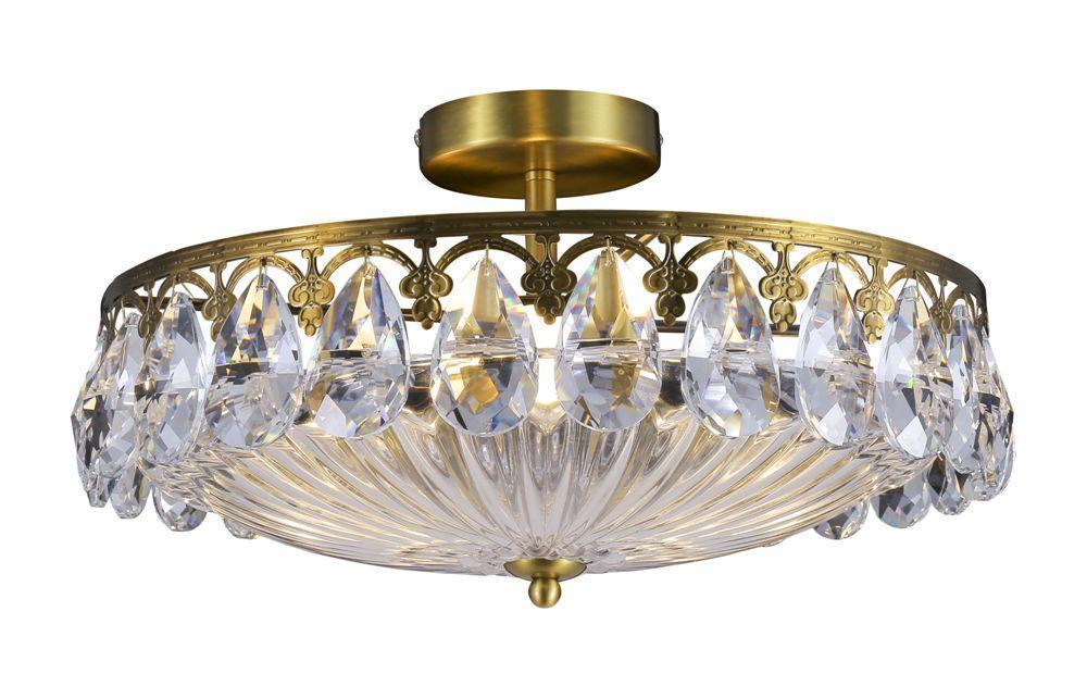 Потолочный светильник Crystal Lux Canaria PL430 crystal lux накладной светильник crystal lux canaria ap2