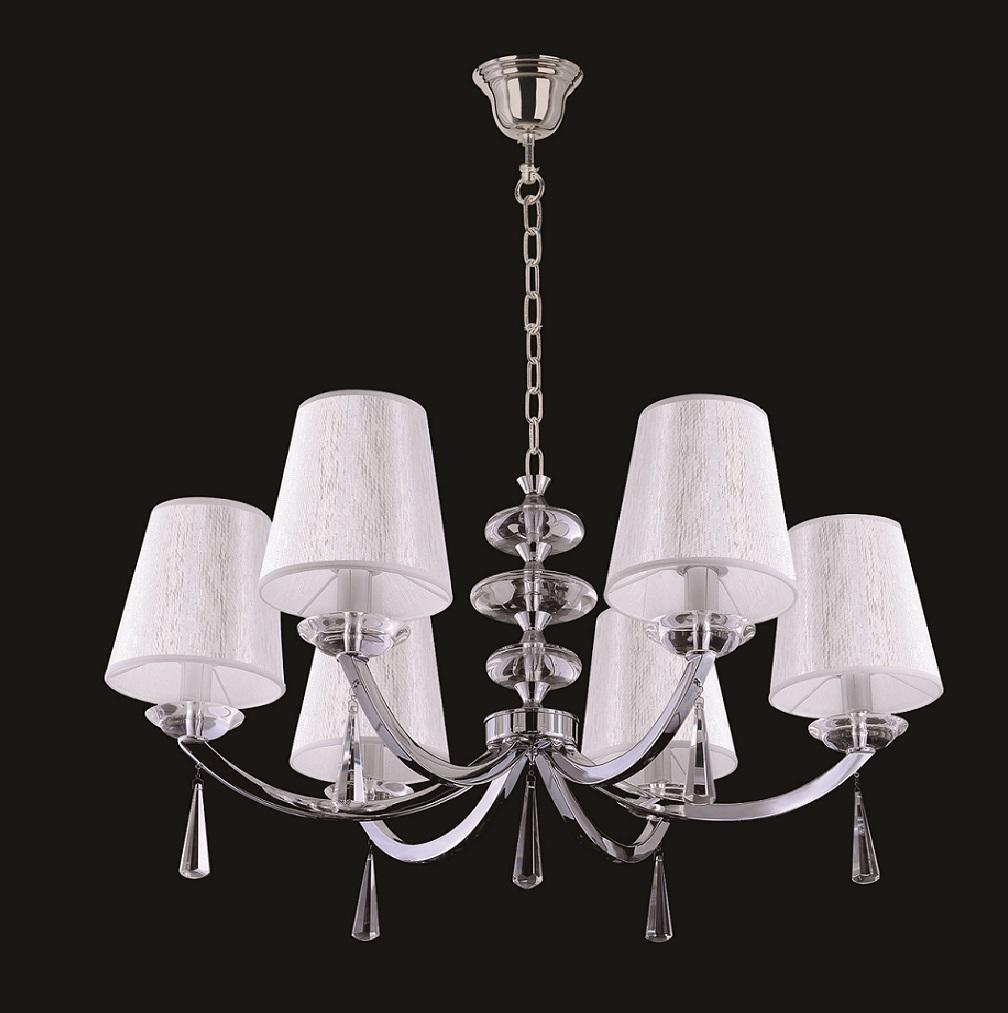 Подвесная люстра Crystal Lux Living SP6 m best price new modern crystal hanging lamps creative crystal pendant lamp luxury bedroom living room led ceiiling light
