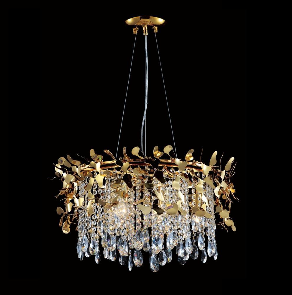 Подвесная люстра Crystal Lux Romeo SP6 Gold D600 подвесная люстра crystal lux diego sp9 d600 gold