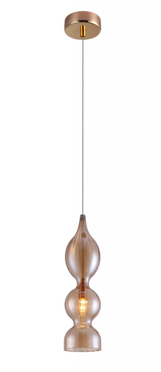 Подвесной светильник Crystal Lux Iris SP1 B Amber подвесной светодиодный светильник crystal lux lux sp1 c amber