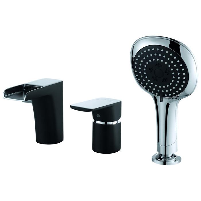 Смеситель D&K DA1434215 для ванны врезной смеситель каскадный для ванны rs 025 00 rosa