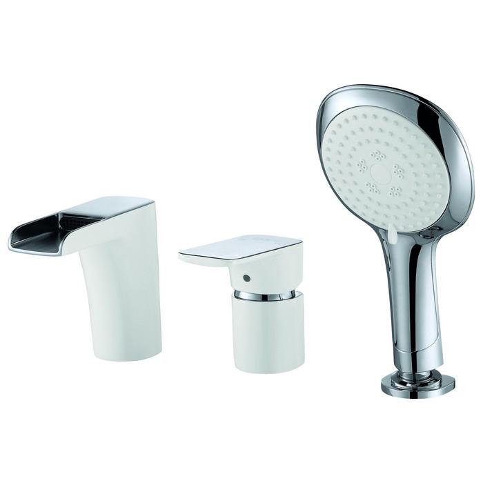 Смеситель D&K DA1434216 для ванны врезной смеситель каскадный для ванны rs 025 00 rosa