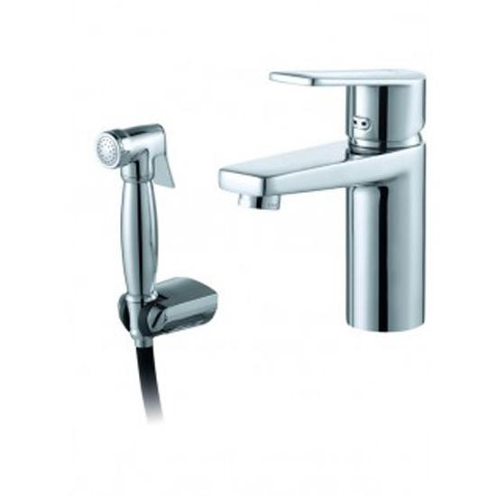 Смеситель D&K DA1322601 для раковины смеситель для раковины с гигиеническим душем bravat drop d f148162c 1