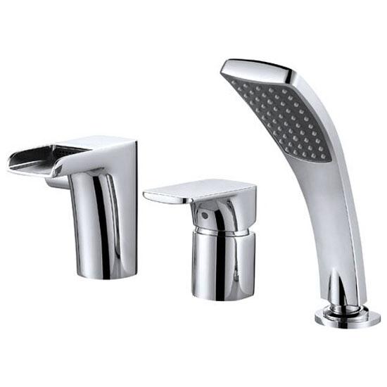Смеситель D&K DA1434201 для ванны врезной смеситель каскадный для ванны rs 025 00 rosa