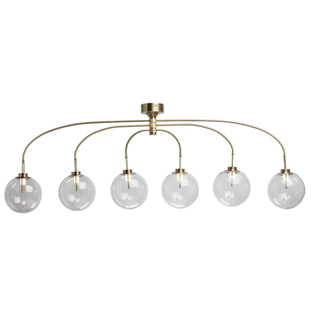 Подвесная светодиодная люстра De Markt Крайс 5 657011606 настольная лампа de markt крайс 657030301