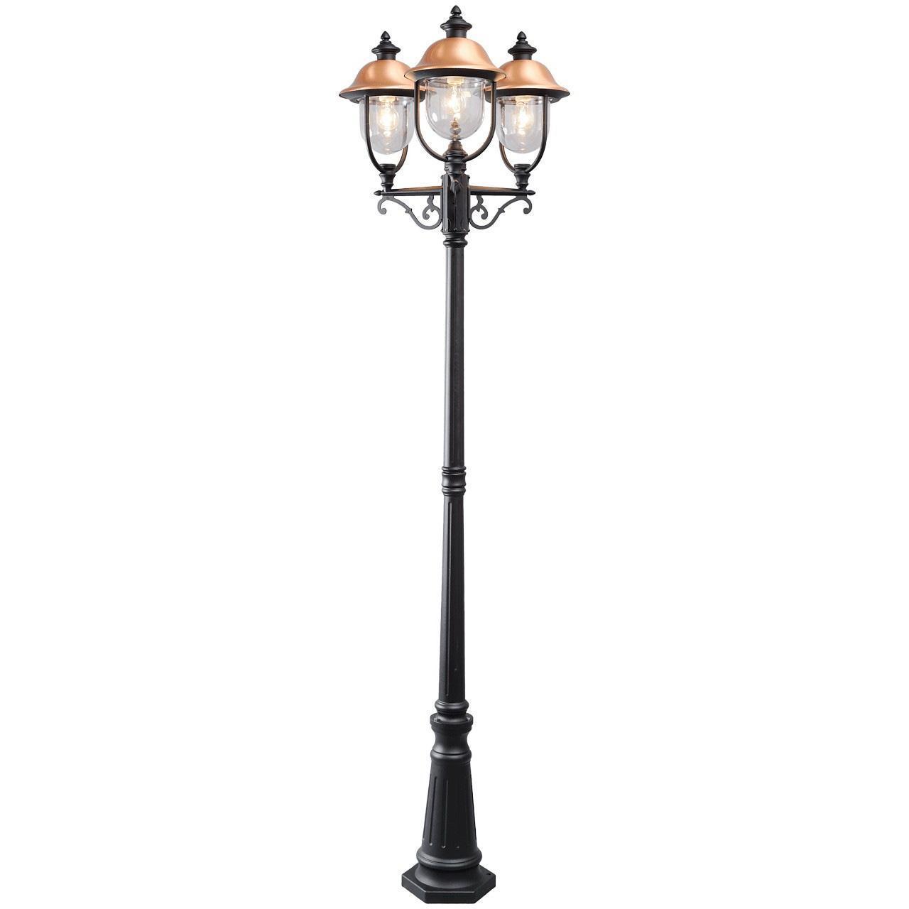 Садово-парковый светильник De Markt Дубай 805040702 mw light садово парковый светильник mw light дубай 805040702