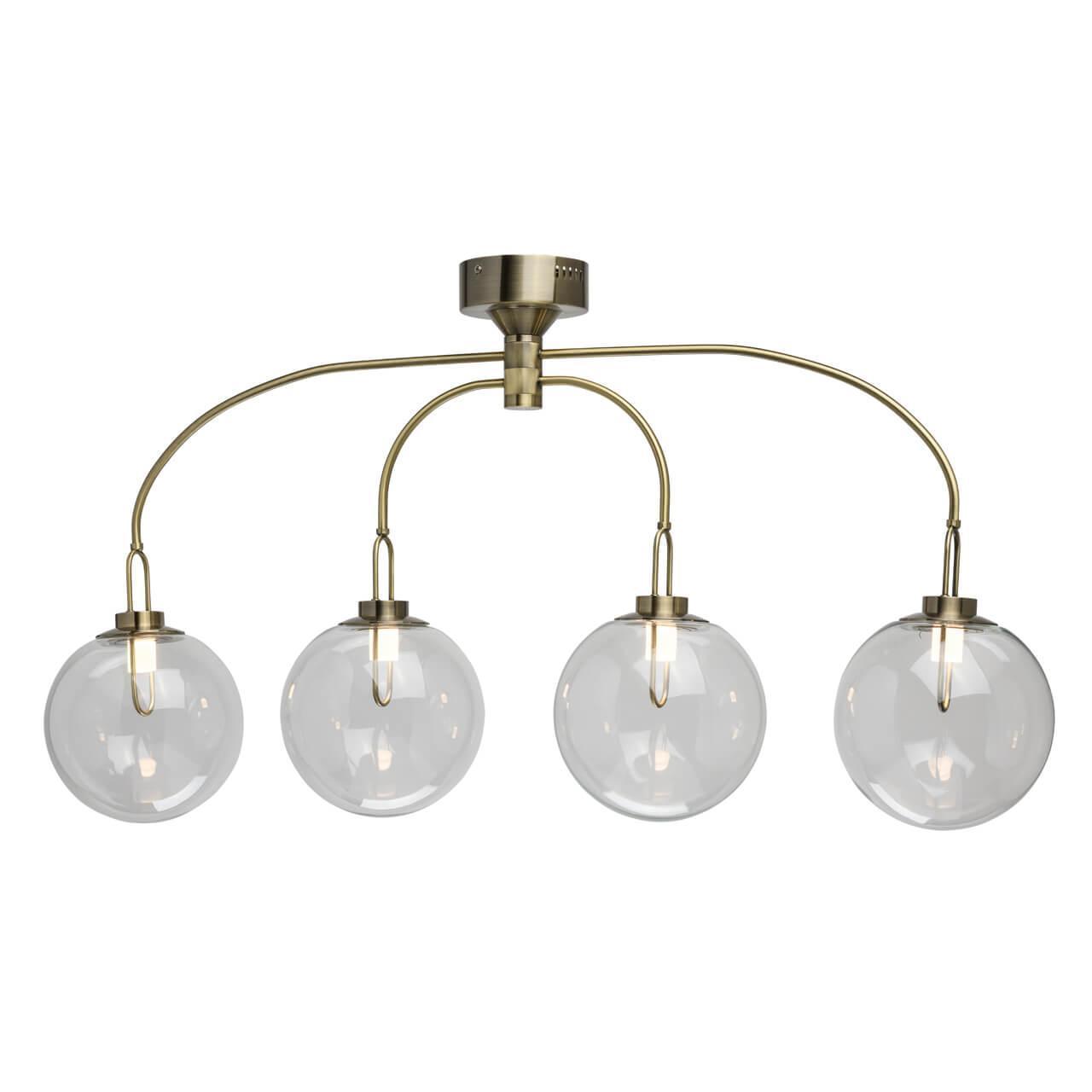 Подвесная светодиодная люстра De Markt Крайс 5 657011704 настольная лампа de markt крайс 657030301