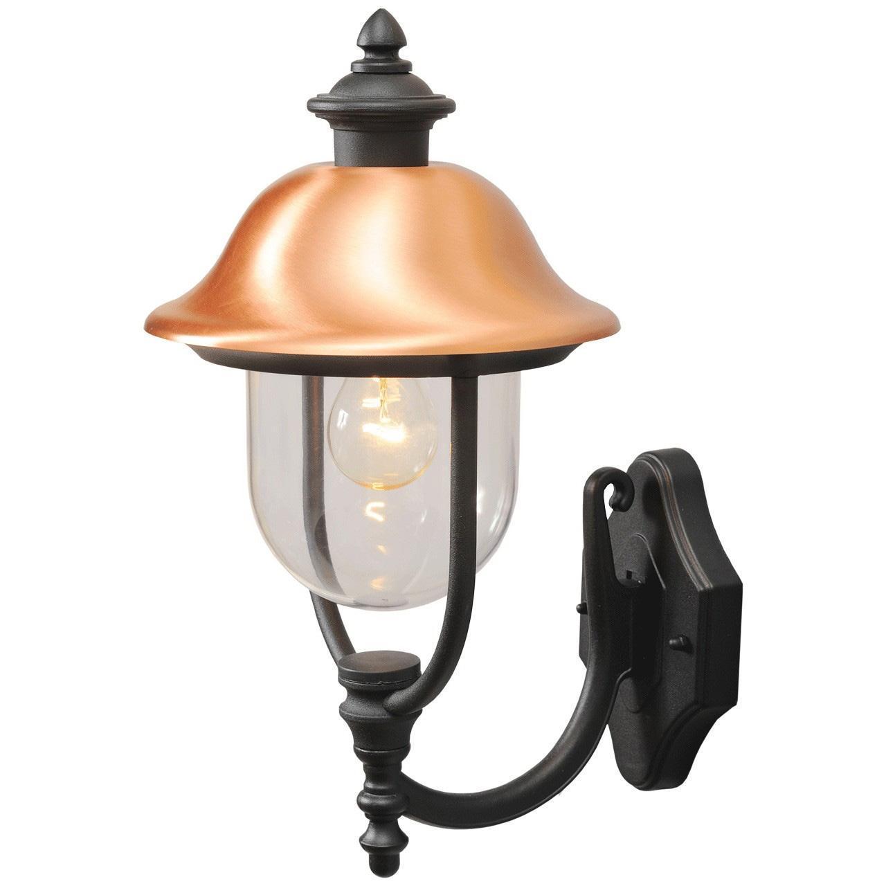 Уличный настенный светильник De Markt Дубай 805020101 светильник на штанге mw light дубай 805020101