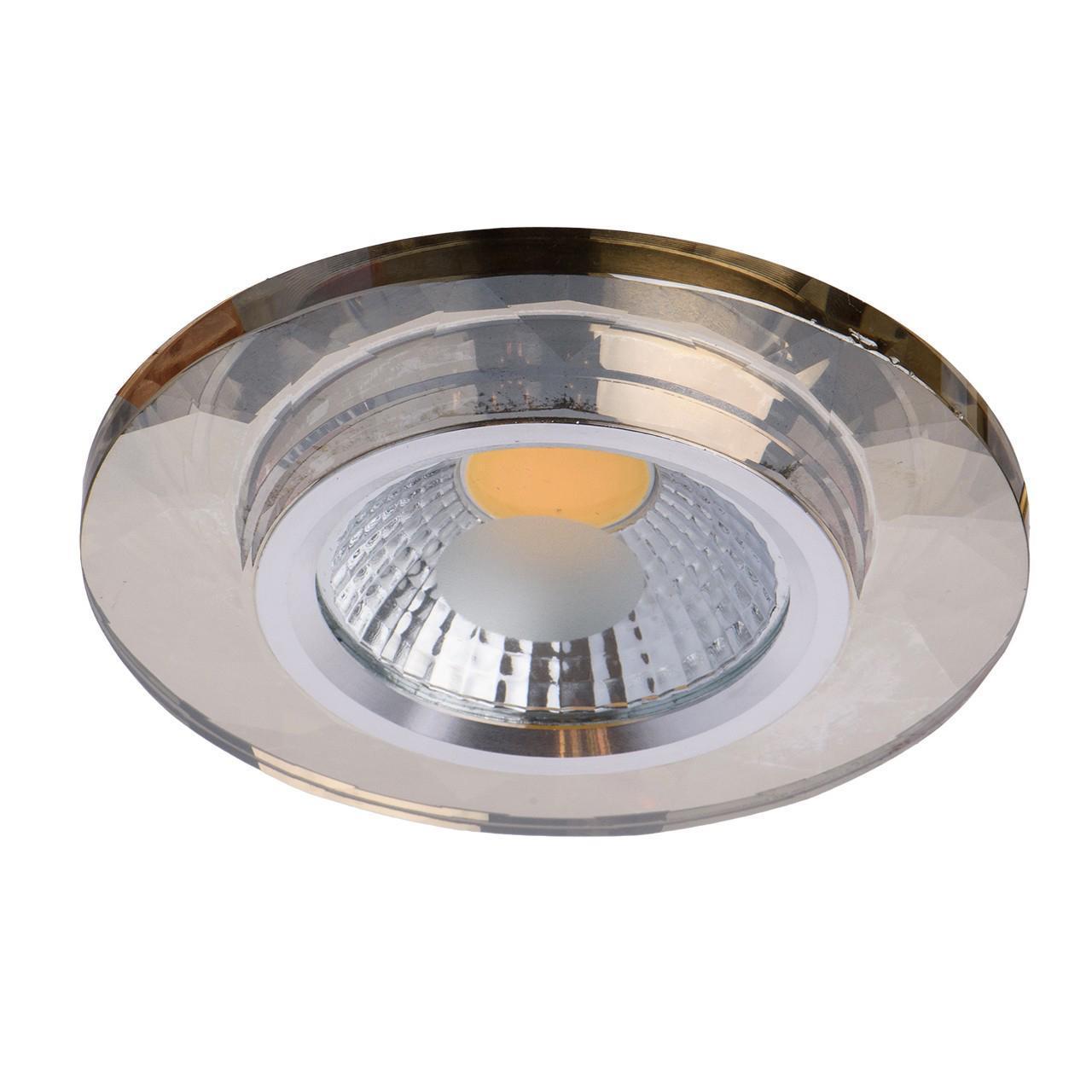 Встраиваемый светодиодный светильник De Markt Круз 12 637014701 deha толстовка