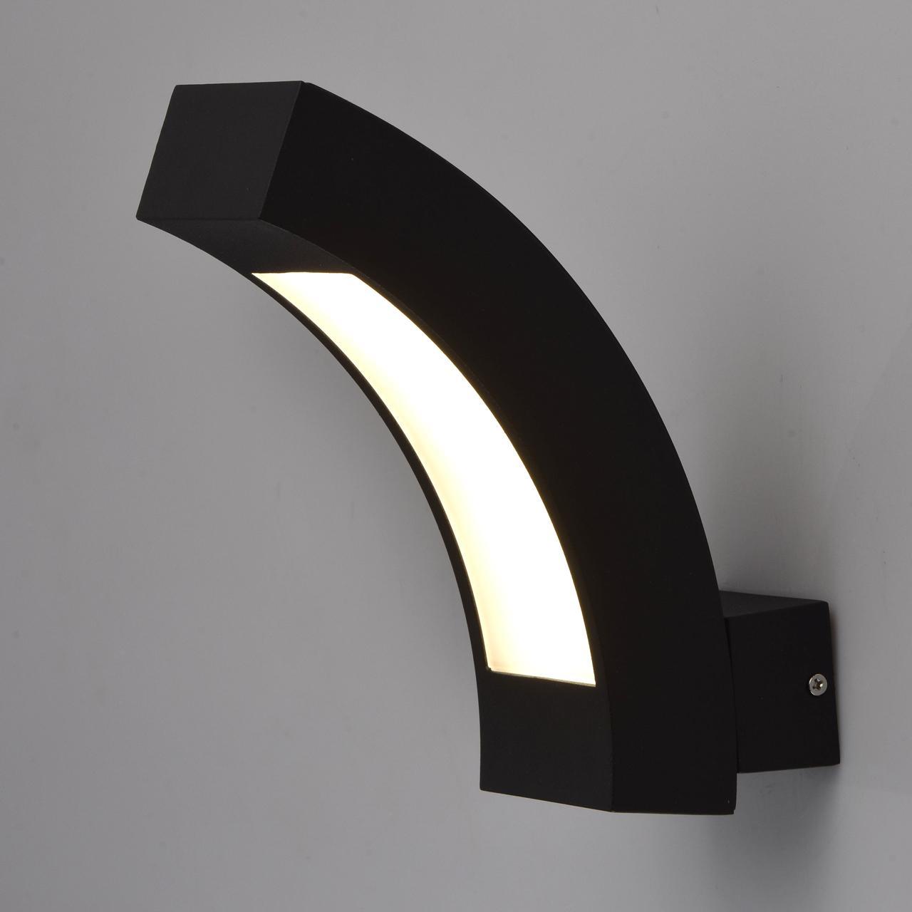 цена на Уличный настенный светодиодный светильник De Markt Уран 1 803021001