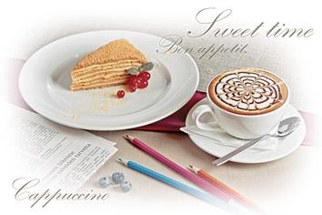 Breakfast Декор D3D137 20х30