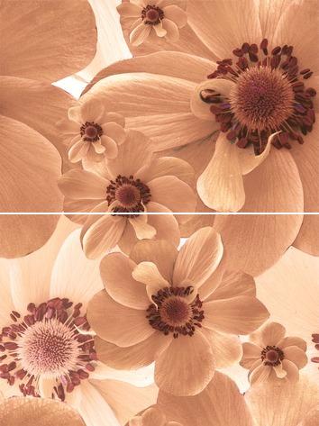 Pastel Панно P2-3D124 30х40 (из 2-х пл.) панно дельта керамика sakura p2d131 20x60 комплект