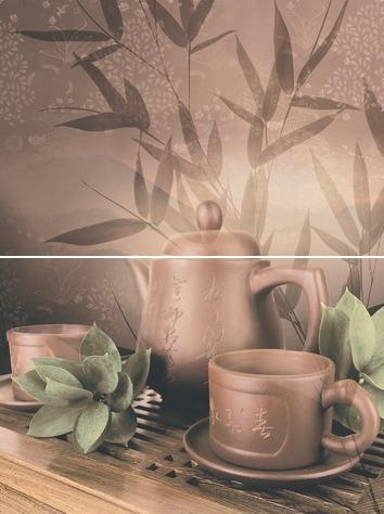Tea ceremony Панно P2D175 30х40 (из 2-х пл.) цена