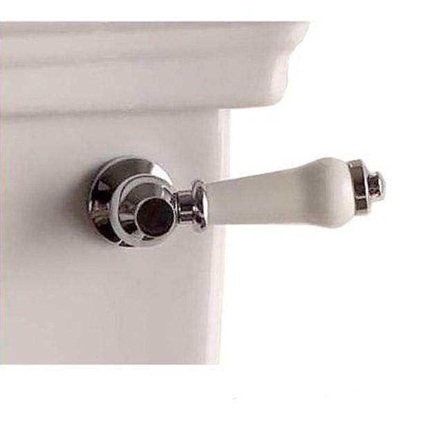 Ручка для бачка Devon&Devon Etoile/Rose IB1042CPM белая/хром feretti детская etoile dargent белая