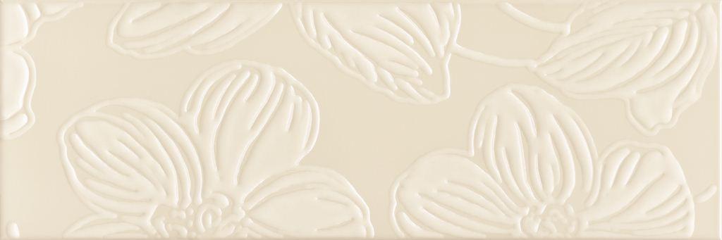 Декор Domino Dec Anya Flower Cream 20х60 декор blau fifth avenue dec tyffanny a 25x75