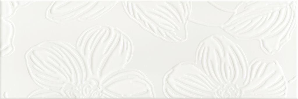 Декор Domino Dec Anya Flower White 20х60 декор ceramica classic tile water dec 3 40x20