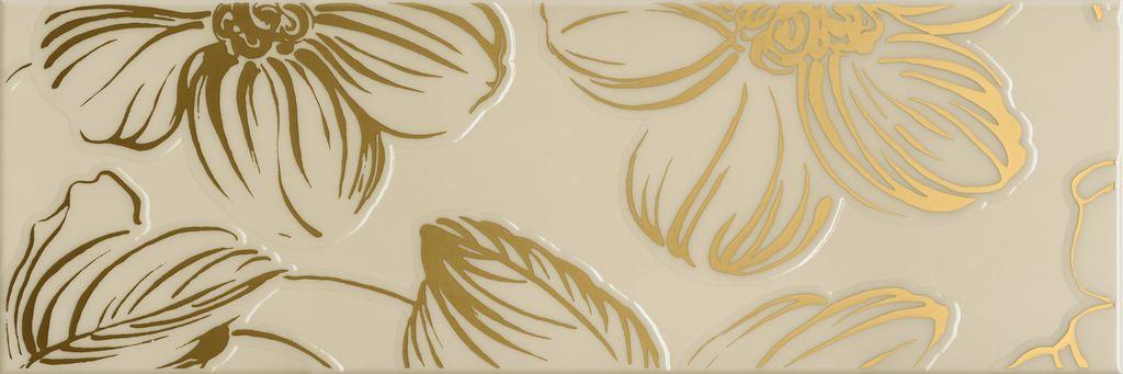 Декор Domino Dec Anya Gold Beige 20х60 декор venus ceramica aria cenefa beige 3x50