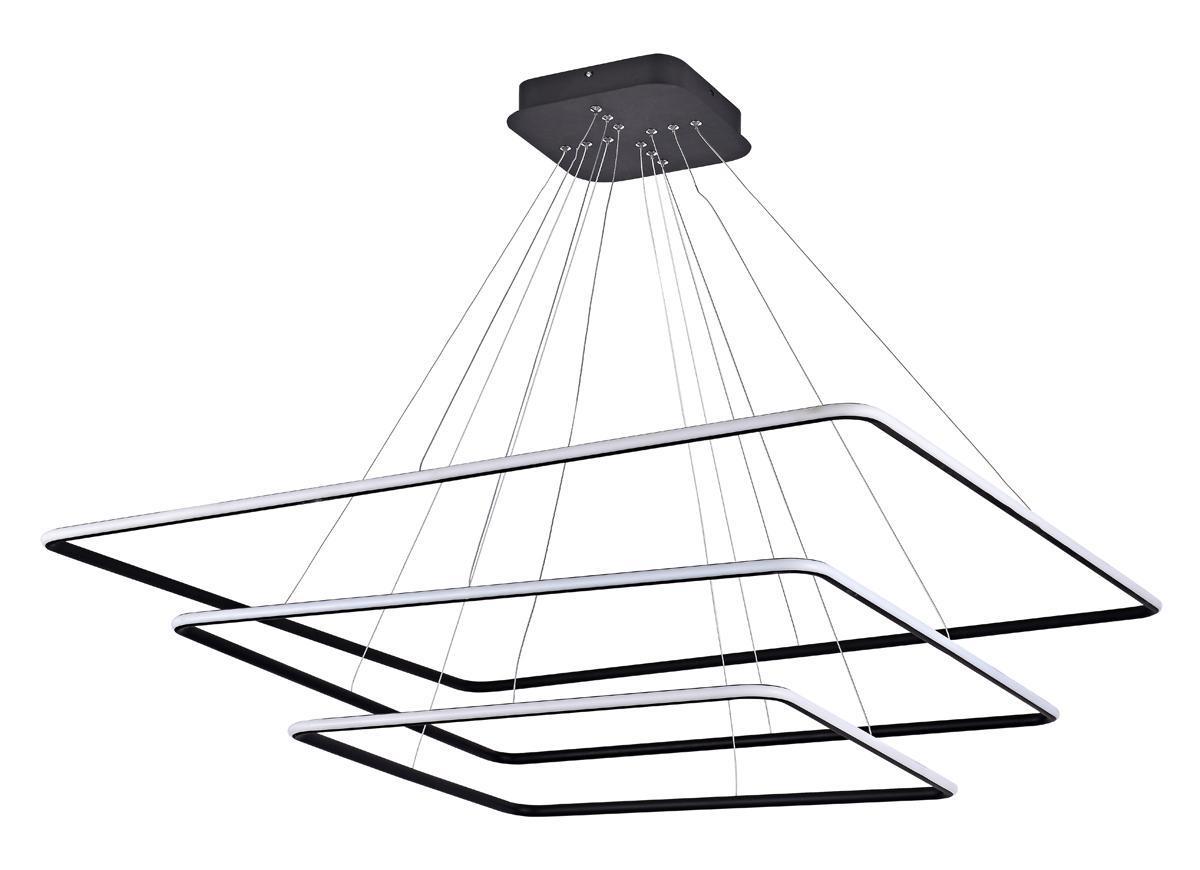 Подвесной светодиодный светильник Donolux S111024/3SQ 160W Black Out