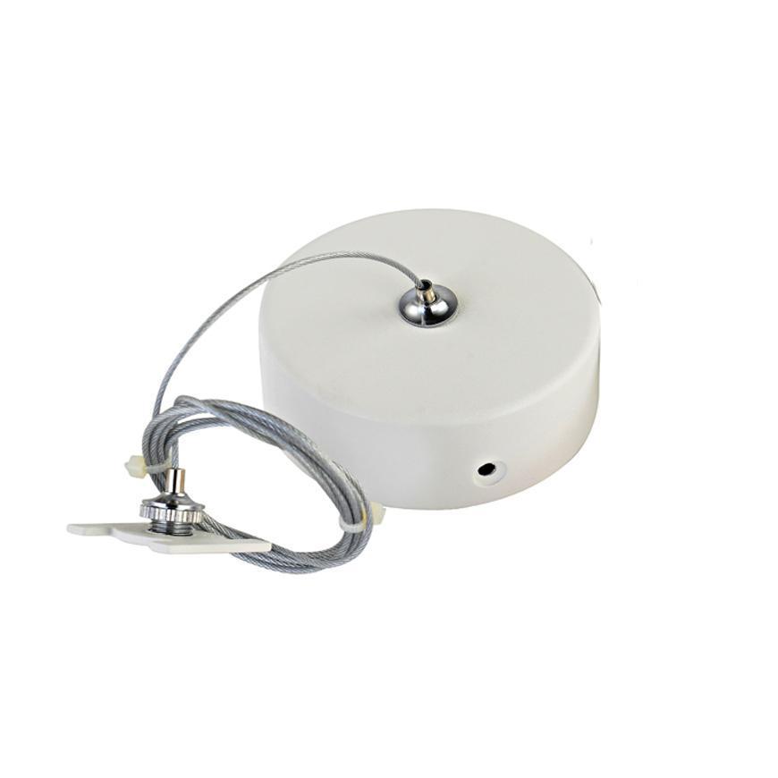 Комплект подвесной Donolux для магнитного шинопровода Suspension kit DLM/White комплект подвесной donolux для магнитного шинопровода suspension kit dlm white