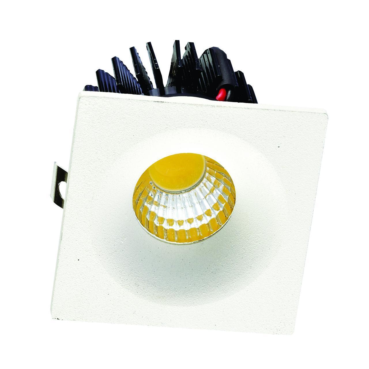 Встраиваемый светодиодный светильник Donolux DL18571/01WW-White SQ Dim встраиваемый светодиодный светильник donolux dl18572 01ww white sq dim