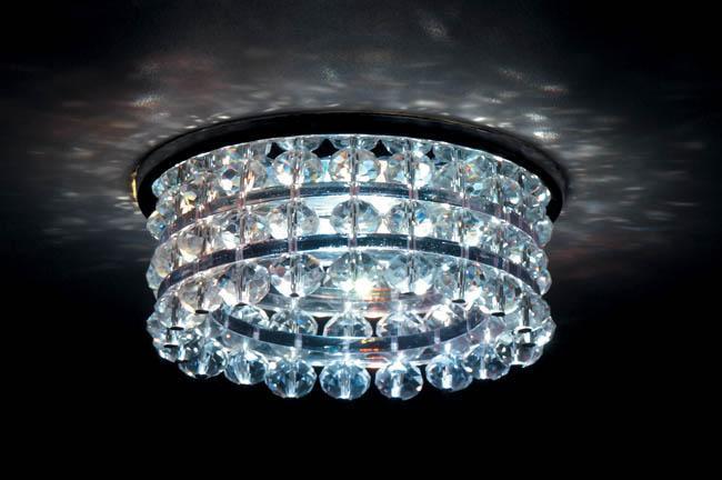 Встраиваемый светильник Donolux DL067.02.1 crystal donolux dl056g crystal